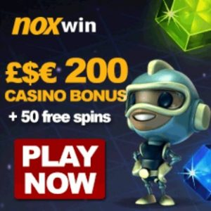 NOXWIN CASINO 50 free spins and No Deposit Bonus