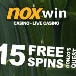 Noxwin Casino 65 Freispiele und €200 Willkommensbonus