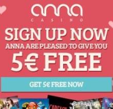 Anna Casino free bonus