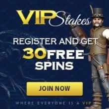 VIP Stakes Casino free spins bonus