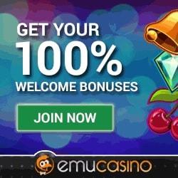 Emu 12 Freispiele ohne Einzahlung plus 300€ Bonus