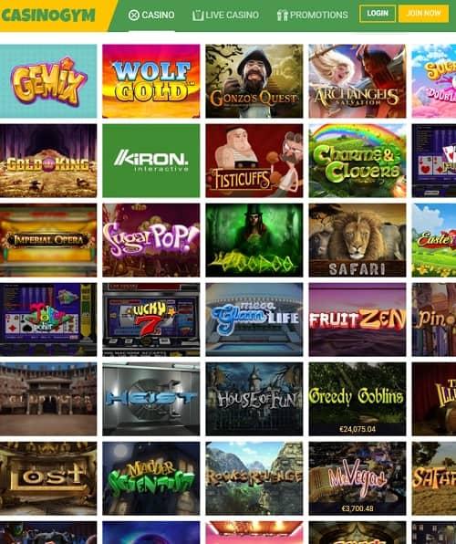 Casino Gym Online free bonus