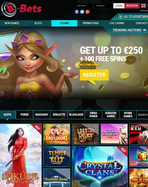 b Bets Free Spins
