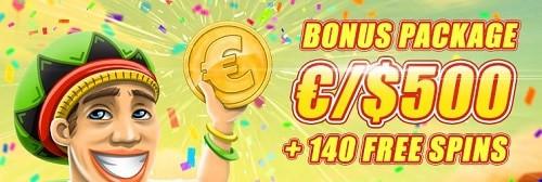 Bob Casino welcome bonus