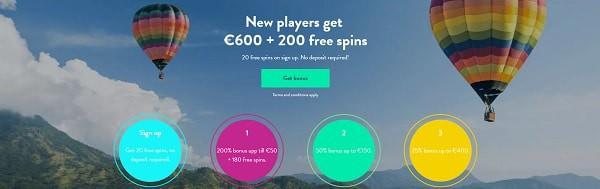 Dunder Casino 200 freispiele