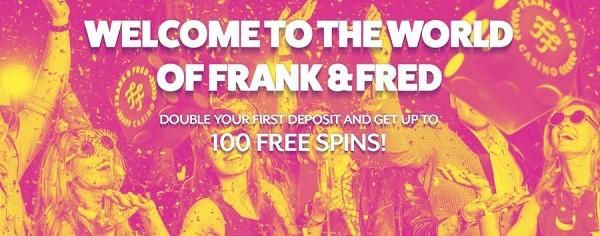 FrankFred.com gratis spins