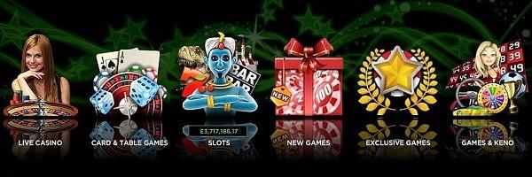 888 Casino games