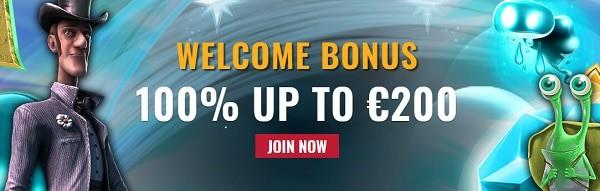 Rembrandt Casino 100% bonus and 10 gratis spins