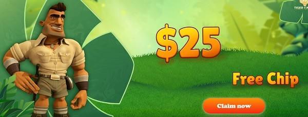 $25 gratis bonus
