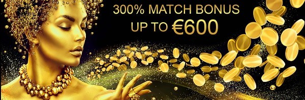 Midaur Casino 300% welcome bonus