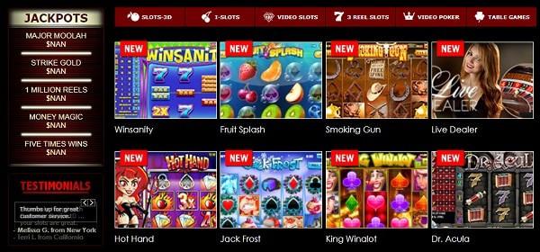 Superior Casino Games and Free Bonuses