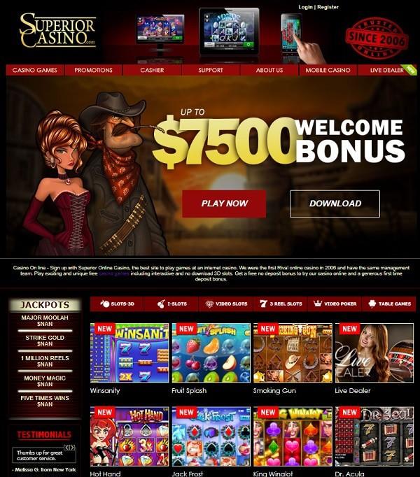 Superior Casino Gratis Spins and Freispiele