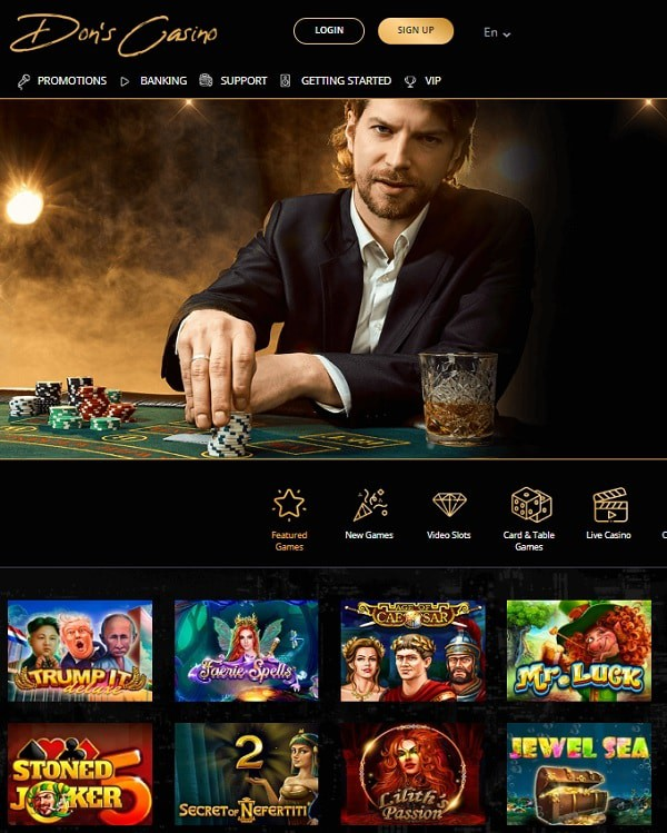 Don Casino Online and Mobile