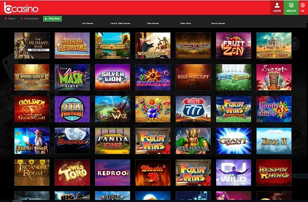 bCasino.com Casino Review