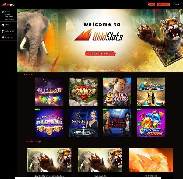 Wild Slots free bonus