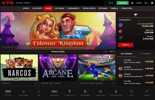 KTO Casino gratis spins