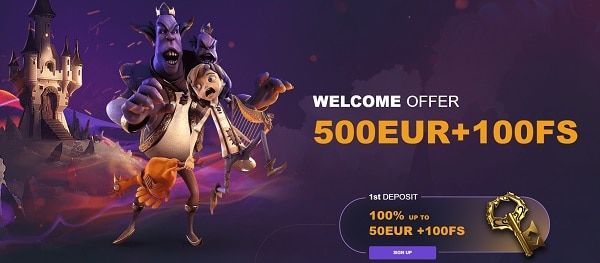 Welcome Offer, Free Spins, Promotion