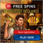 Wildblaster Casino 20 Freispiele ohne Einzahlung Bonus