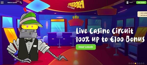 100 € für das Robo Live Casino