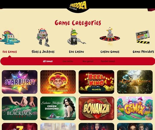 Casoola Casino – Ein führendes Deutsches Online Casino mit 200 free spins