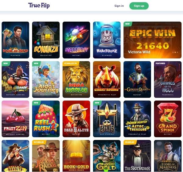 True Flip Casino Reviews