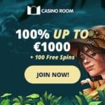 Casino Room 100 Freispiele und 1.000€ Willkommensbonus