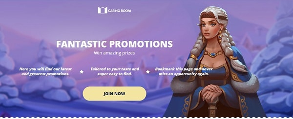 Enjoy free promotions