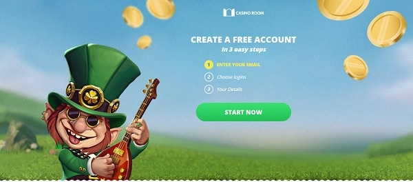 Create your account here