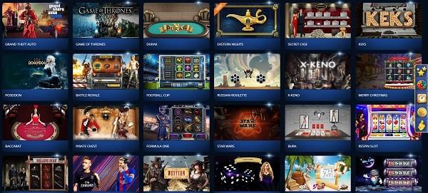 Online Slots, Table Games, Live Dealer and Sportsbook on offer!