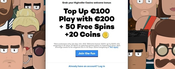 Welcome Bonus For New Customers