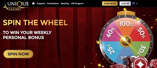 Spin the Wheel and win cash prizes