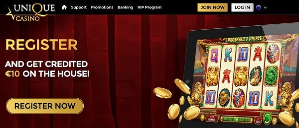 Get €10 NDB + 100% up to €200 + 20 Free Spins