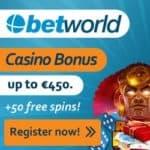 Betworld Casino 10 Freispiele ohne Einzahlung (Bonuscode)