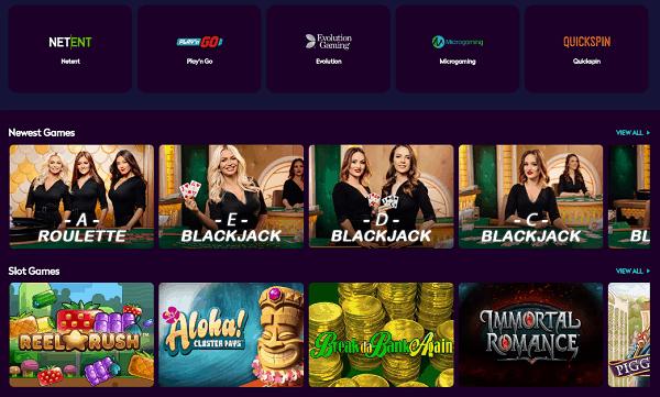 Exlcusive Casino Games and Free Bonuses!