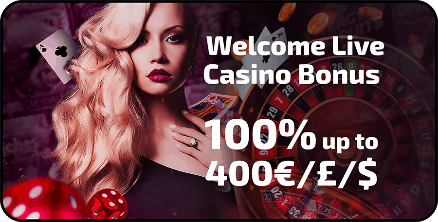 100% welcome bonus and 100 Freispiele