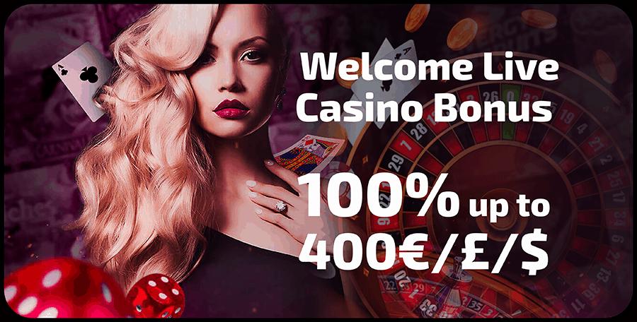 100% welcome bonus and 100 Freispiele