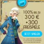 Spins Lab 300 Freispiele und 1.500€ Willkommensbonus