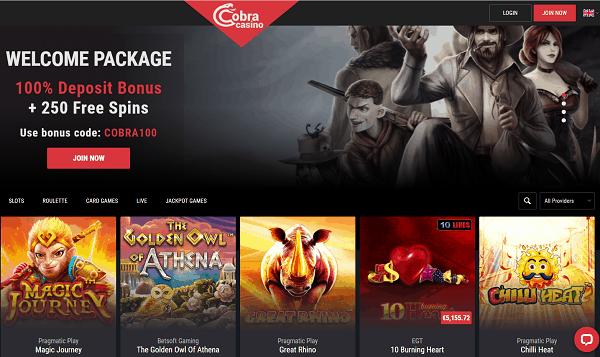 Cobra Casino Full Review