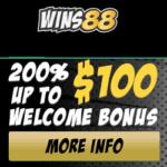Wins88 Casino $100 GRATIS and 100 Free Spins Bonus