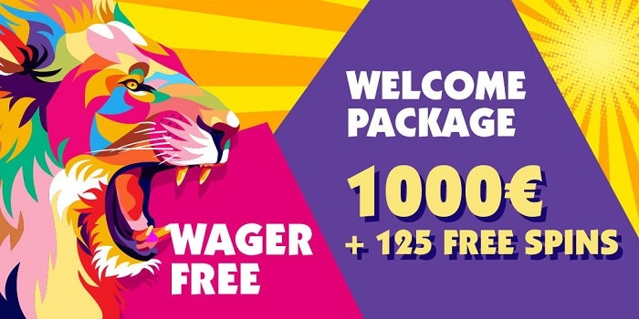 1000 EUR Gratis and 125 Freespins