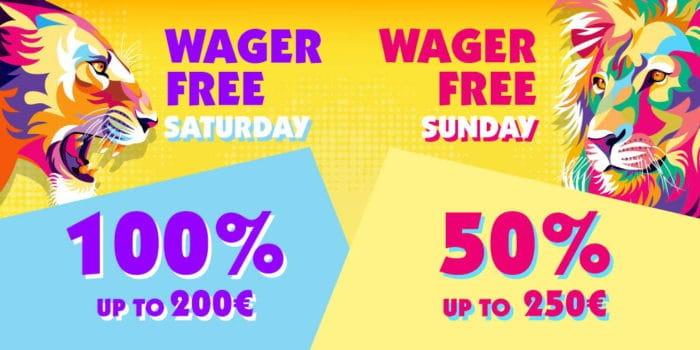 Sunday and Saturday Bonuses