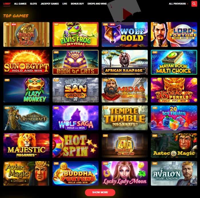 Arlekin Casino Gratis Spins Bonus