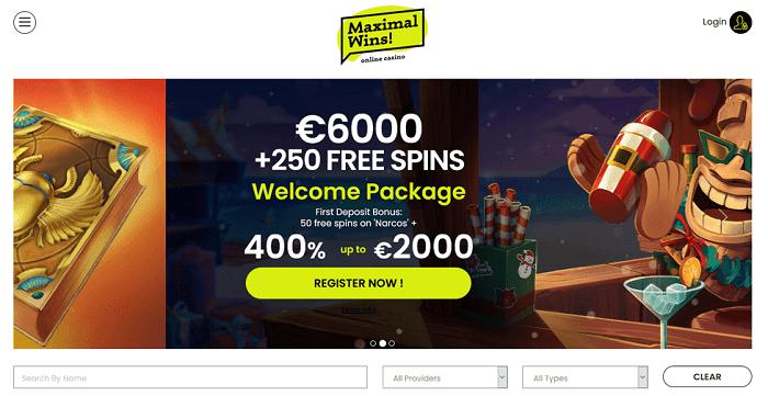 Maximal Win Casino bonus
